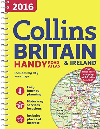 2016 Collins Handy Road Atlas Britain By Collins Maps