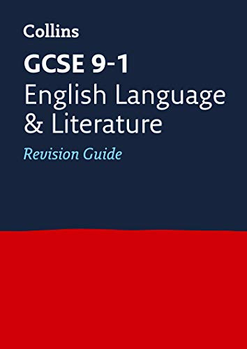 GCSE 9-1 English Language and Literature Revision Guide By Collins GCSE