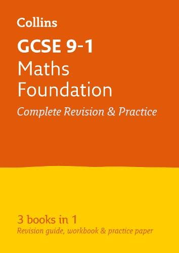 GCSE 9-1 Maths Foundation All-in-One Revision and Practice By Collins GCSE
