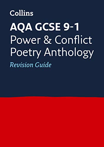 Grade 9-1 GCSE Poetry Anthology Power and Conflict AQA Revision Guide (with free flashcard download) By Collins GCSE