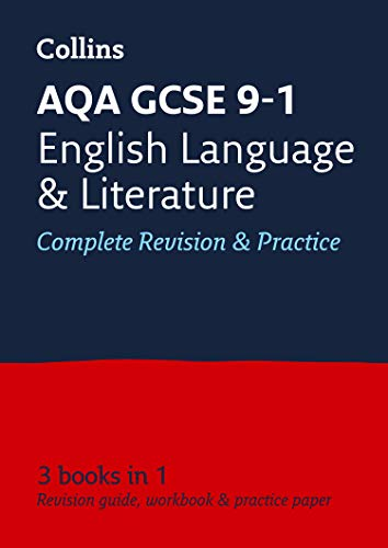 AQA GCSE 9-1 English Language and English Literature All-in-One Revision and Practice By Collins GCSE