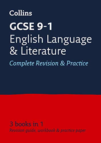 GCSE 9-1 English Language and English Literature All-in-One Revision and Practice By Collins GCSE