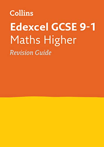 Edexcel GCSE 9-1 Maths Higher Revision Guide By Collins GCSE