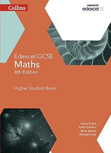 GCSE Maths Edexcel Higher Student Book By Kevin Evans