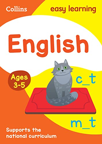 English Ages 3-5 By Collins Easy Learning
