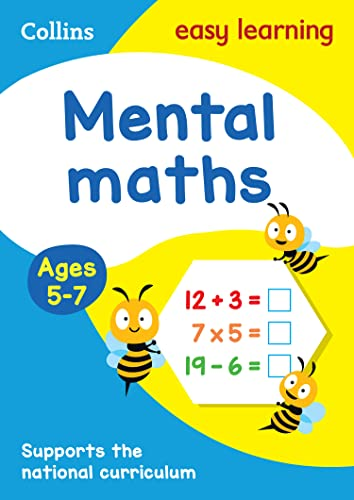 Mental Maths Ages 5-7 By Collins Easy Learning