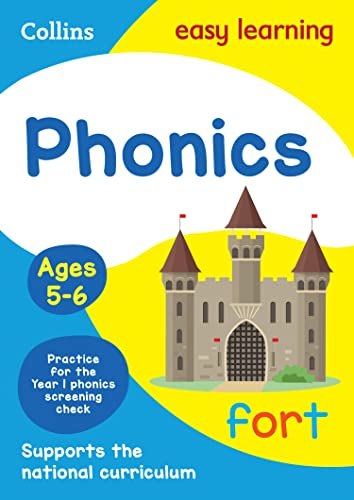 Phonics Ages 5-6: New Edition By Collins Easy Learning