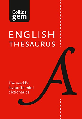 English Gem Thesaurus By Collins Dictionaries