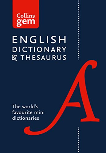 Collins English Gem Dictionary and Thesaurus By Collins Dictionaries