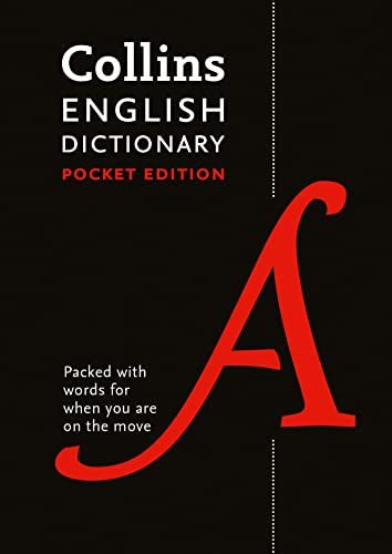 Collins English Pocket Dictionary: The perfect portable dictionary By Collins Dictionaries