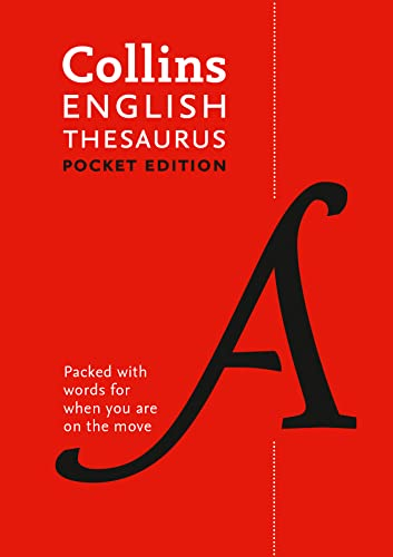 Collins English Pocket Thesaurus: The perfect portable thesaurus By Collins Dictionaries
