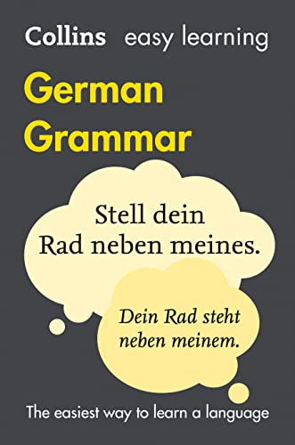 Easy Learning German Grammar (Collins Easy Learning German) By Collins Dictionaries