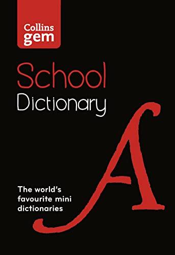 Collins Gem School Dictionary By Collins Dictionaries