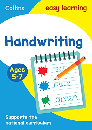 Handwriting Ages 5-7 (Collins Easy Learning KS1) By Collins Easy Learning