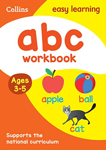 ABC Workbook Ages 3-5 von Collins Easy Learning