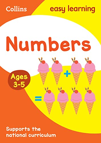 Numbers Ages 3-5: New Edition (Collins Easy Learning Preschool) By Collins Easy Learning
