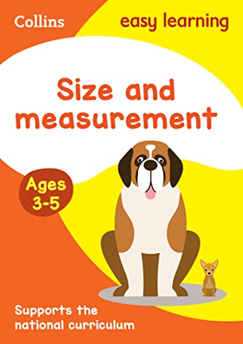 Size and Measurement Ages 3-5: New Edition By Collins Easy Learning