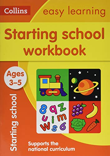 Starting School Workbook Ages 3-5: New Edition By Collins Easy Learning