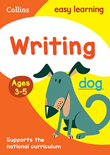 Writing Ages 3-5: New Edition (Collins Easy Learning Preschool) by Collins Easy Learning