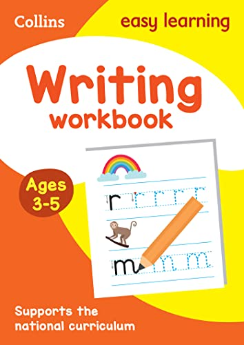 Writing Workbook Ages 3-5: New Edition By Collins Easy Learning