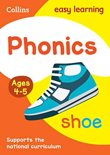 Phonics Ages 4-5 By Collins Easy Learning