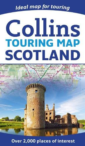 Scotland Touring Map By Collins Maps