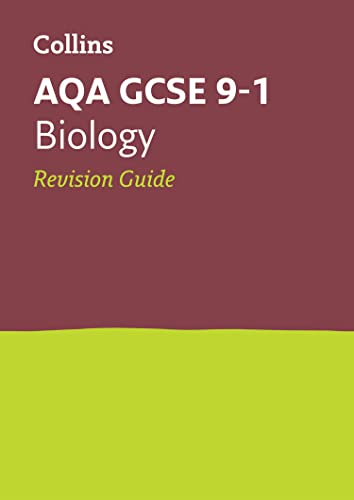 AQA GCSE 9-1 Biology Revision Guide By Collins GCSE