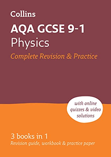 AQA GCSE 9-1 Physics All-in-One Revision and Practice By Collins GCSE