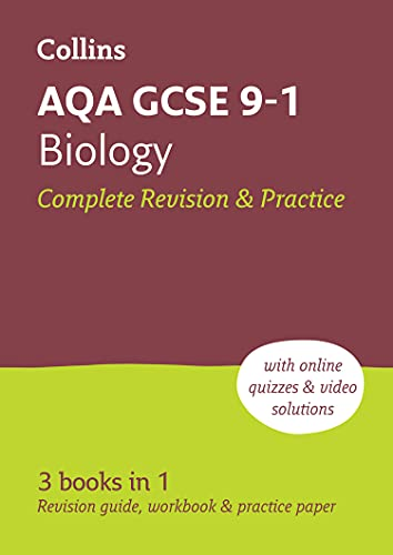 AQA GCSE 9-1 Biology All-in-One Revision and Practice By Collins GCSE