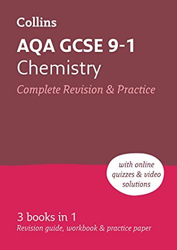 Grade 9-1 GCSE Chemistry AQA All-in-One Complete Revision and Practice (with free flashcard download) By Collins GCSE