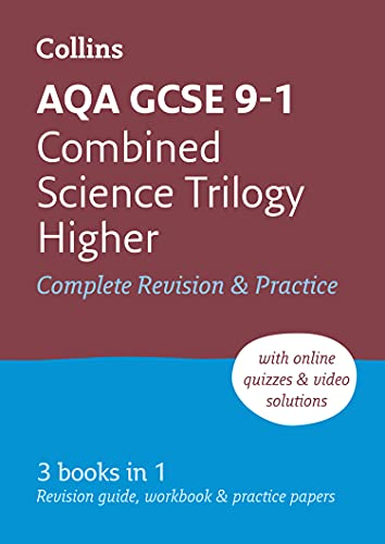 Grade 9-1 GCSE Combined Science Trilogy Higher AQA All-in-One Complete Revision and Practice (with free flashcard download) By Collins GCSE