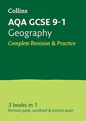 Grade 9-1 GCSE Geography AQA All-in-One Complete Revision and Practice (with free flashcard download) By Collins GCSE