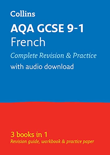 Grade 9-1 GCSE French AQA All-in-One Complete Revision and Practice (with free flashcard download) By Collins GCSE