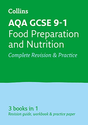 AQA GCSE 9-1 Food Preparation and Nutrition All-in-One Revision and Practice By Collins GCSE