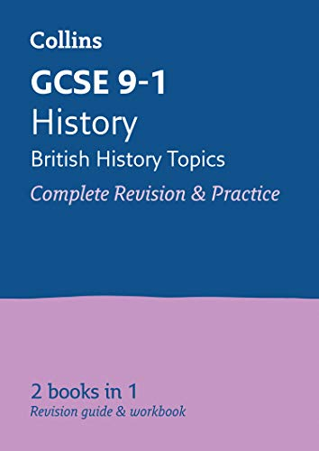 Grade 9-1 History (British) All-in-One Complete Revision and Practice (with free flashcard download) By Collins GCSE
