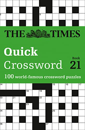 Times Quick Crossword Book 21 By The Times Mind Games