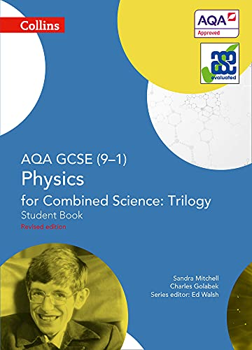 AQA GCSE Physics for Combined Science: Trilogy 9-1 Student Book By Sandra Mitchell