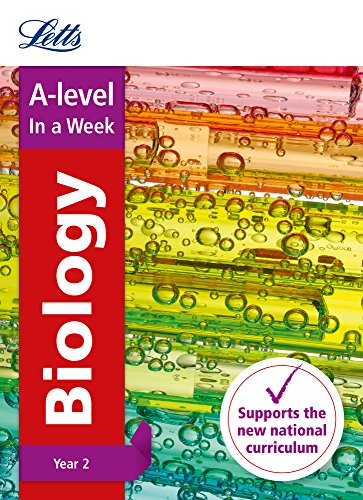 Letts A-level Revision Success – A-level Biology Year 2 In a Week By Letts A-Level
