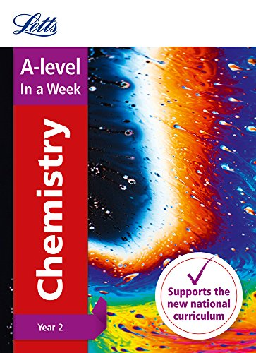 Letts A-level Revision Success – A-level Chemistry Year 2 In a Week By Letts A-Level