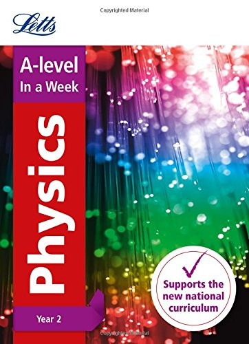 A -level Physics Year 2 In a Week By Letts A-Level