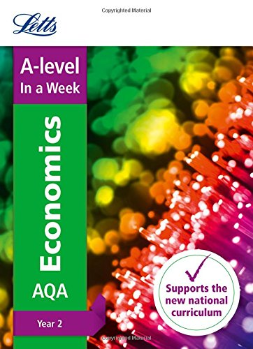 A -level Economics Year 2 In a Week By Letts A-level