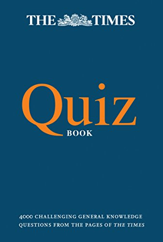 The Times Quiz Book By The Times Mind Games