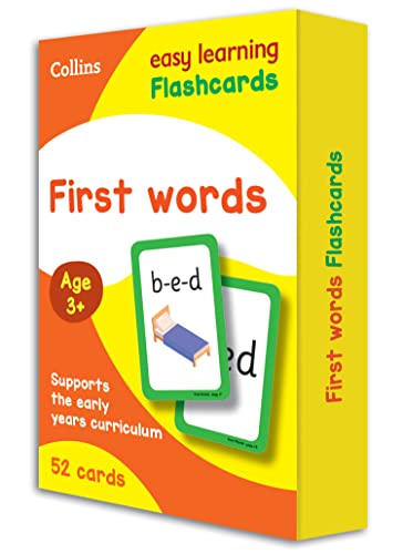 First Words Flashcards By Collins Easy Learning