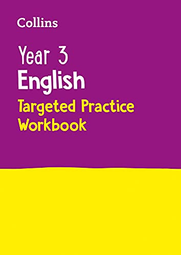 Year 3 English Targeted Practice Workbook By Collins KS2
