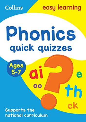 Phonics Quick Quizzes Ages 5-7 By Collins Easy Learning