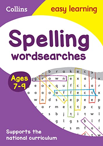 Spelling Word Searches Ages 7-9 von Collins Easy Learning