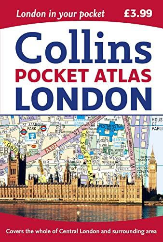 London Pocket Atlas By Collins Maps