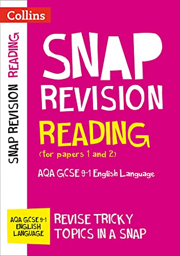 Reading (for papers 1 and 2): AQA GCSE 9-1 English Language By Collins GCSE