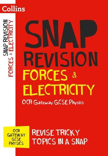 OCR Gateway GCSE 9-1 Physics Forces and Electricity Revision Guide By Collins GCSE