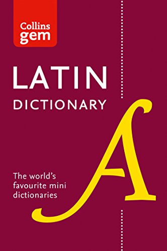 Latin Gem Dictionary By Collins Dictionaries